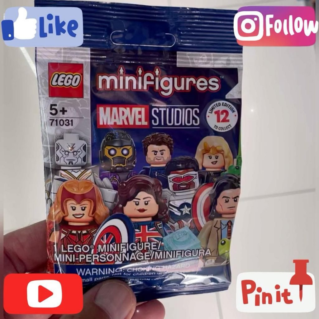New Lego Marvel Studios Series Minifigures 71031 Limited Edition Collectible Building Kit