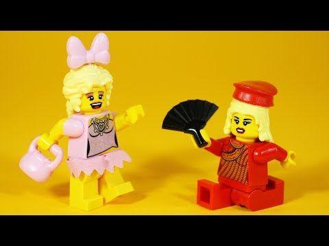 How to Build LEGO Trixie & Katya | UNHhhh / RuPaul's Drag Race custom minifigures